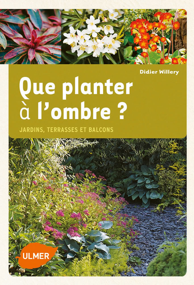 editions ulmer que planter lombre jardins terrasses et balcons didier willery